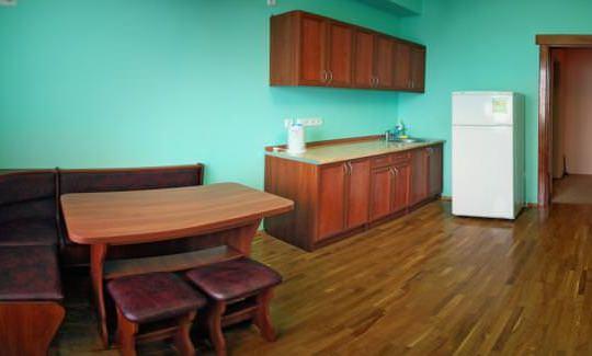 Апартаменты 2-х комнатные (+2 дополнительных места)